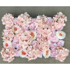 Mur De Fleur Rose Pale Maan I Events Location Et Vente De