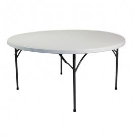 Table ronde pliante 180 cm