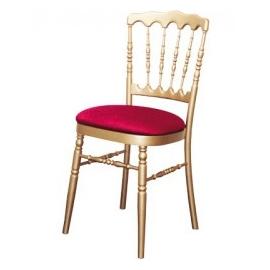Chaise Napoleon doré