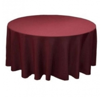 NAPPE RONDE LICRA ROUGE