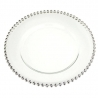 ASSIETTE DECORATIVE SILVER X 6