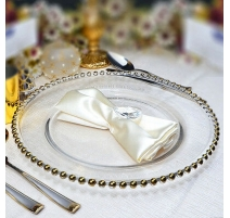 ASSIETTE DECORATIVE OR X6
