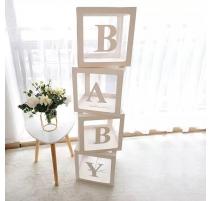 BOITE DECORATION BABY BLANC