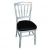 Chaise napoleon argenté