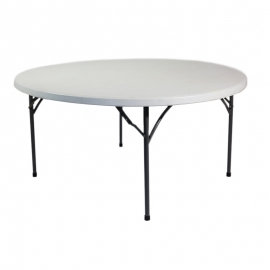 Table ronde pliante 180 cm