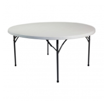 LOCATION - Table PVC Ronde