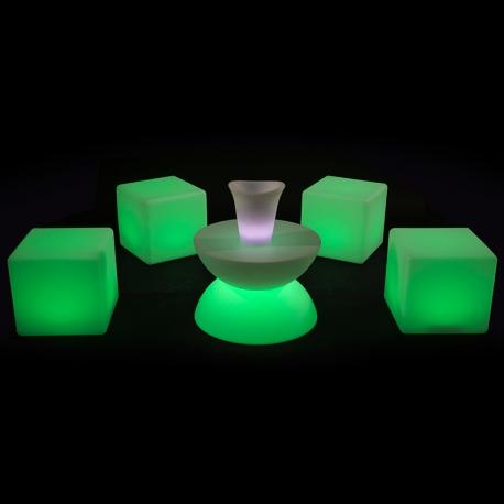 LOCATION - Cube Lumineux 40cm