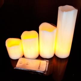 Bougies LED de table