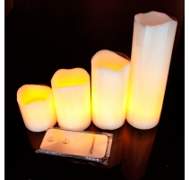 Bougies LED de table
